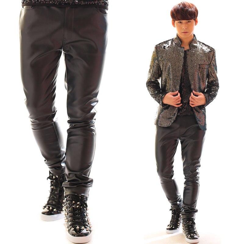 27-44!!! 2018, pour les vêtements de mode pour hommes candy neon série de pantalons décontractés costumes costume les vêtements du chanteur - 4