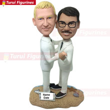 Gay Male Wedding Cake Topper Personalized Figurine Gift Custom