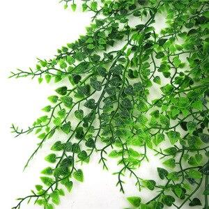 Image 4 - 82Cm Nhân Tạo Xanh Vật Có Hoa Dây Leo Treo Tường Giả Lá Vật Có Hoa Cho Khu Vườn Nhà Trang Trí Mô Phỏng Phong Lan Hoa Giả Mây