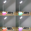 Q6 Colorful LED Charging Touch Lamp Bed Table Light Eye Care Reading Children Worldwide store