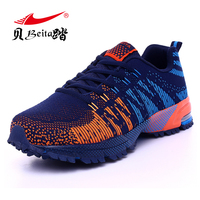 Beita Summer/autumn men male ari Sports Running Shoes outdoor Breathable Mesh Track lightweight anti skid Trainers Athletic Shoe