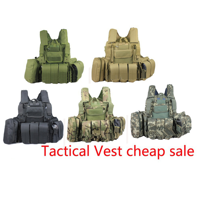 Military Vest steel wire tactical vest ciras New Molle Combat Strike Plate Carrier 9.11 outdoor live cs Airsoft Paintball Vest
