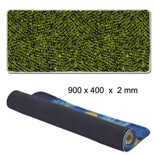 Viviration Locked Edge Gaming Rubber Mat Soft Mousepad New XL Size 40x90cm Large Non-slip Gamer Pad For Laser Mouse Mice