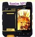 100% Original Sonim XP7 xp7700 FDD-LET 4G WCDMA 3G GSM 2G IP68 À Prova D' Água câmera de 8MP Telefone 4800 Bateria Runbo telefone catb15q s50
