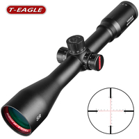 SR 8X44 SFSS Hunting Riflescopes Side Parallax Glass Etched Reticle Turrets Lock Reset Fixed 8X Cross Magnification Scope