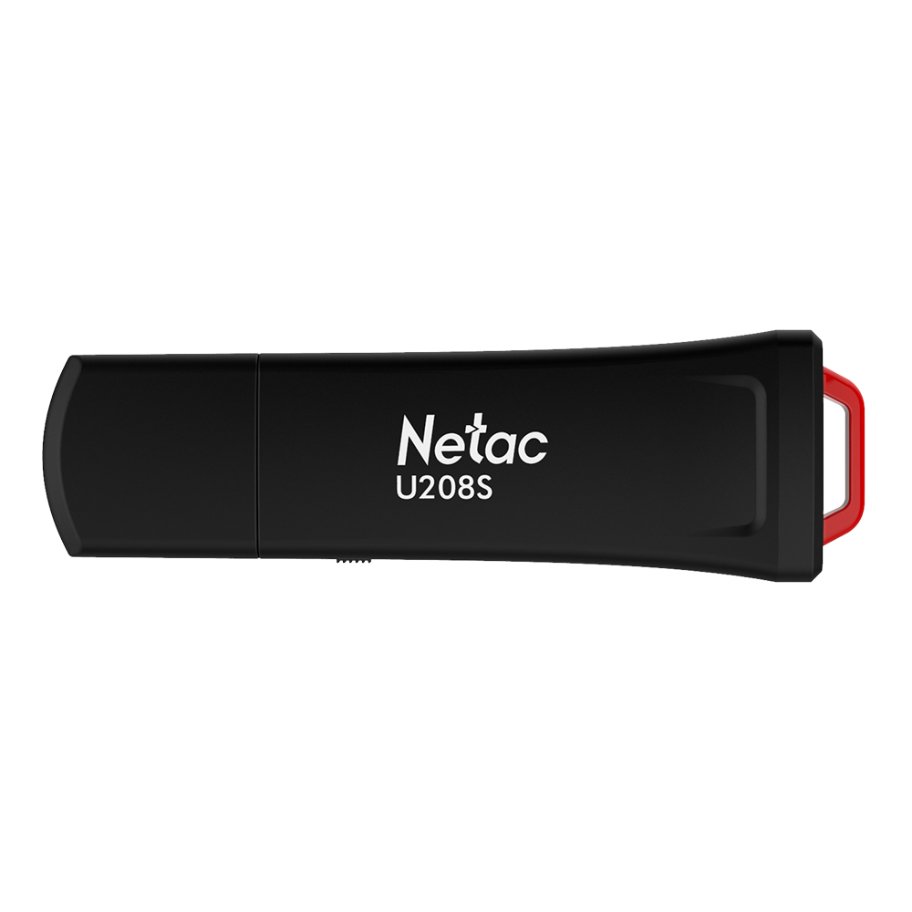 Netac U208S Write Protect USB Flash Drive Pen Drive Encrypted Antivirus USB2.0 Flash Drive 8G 16G 32G Black Plastic Memory Stick