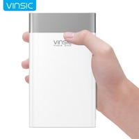 Vinsic 20000mAh Quick Charging3.0 Power Bank QC3.0 Dual USB Type C Li polymer External Battery For Samsung iPhone X 8 8P Xiaomi