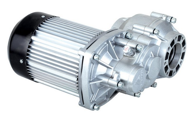 1800w DC 60v brushless motor, electric bicycle BLDC , differential gear BM1424HQF-14A