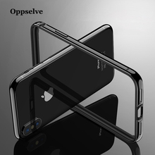 Bumper Phone Case For iPhone X 10 8 7 6 6s Plus Shockproof Frame Cover Case For iPhoneX Aluminum Protective Border Coque Capinha baseus frapiph6 rt0g aviation aluminum protective bumper frame case for 4 7 iphone 6 grey