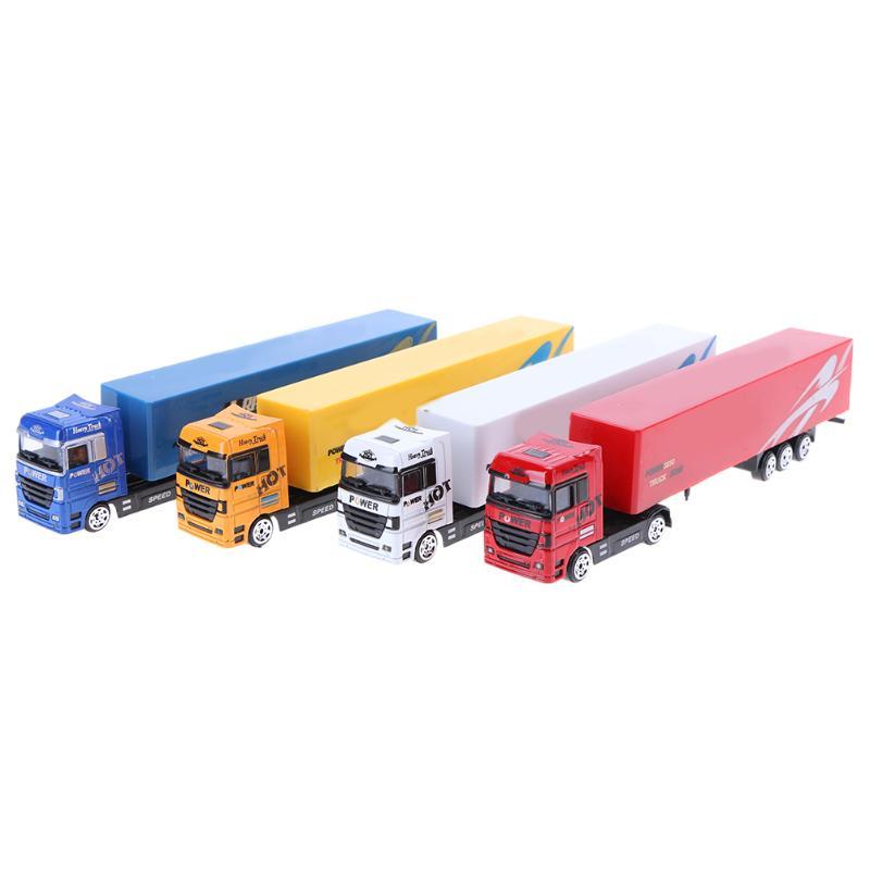 בייבי סגסוגת רכב דגם מיכל משאית צעצוע - צעצוע כלי רכב