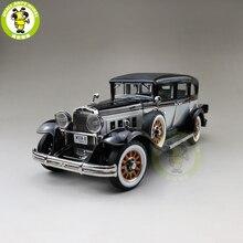 1/18 אוטומטי עולם 1931 פירלס מאסטר 8 סדאן Diecast דגם רכב צעצועי בני בנות מתנה