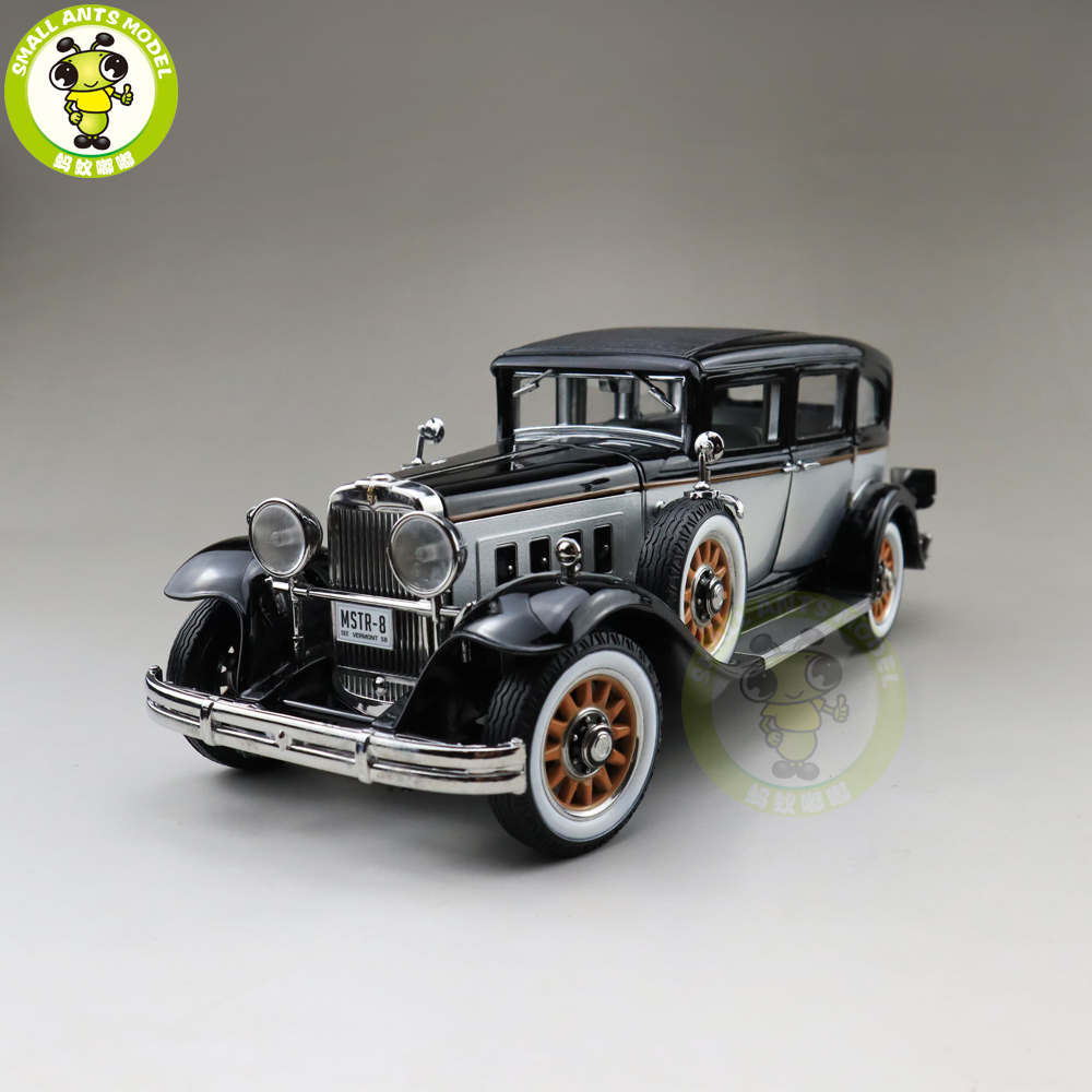 1/18 AUTO WORLD 1931 PEERLESS MASTER 8 SEDAN Diecast Model Car Toys Boys Girls Gift