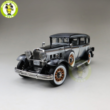 1/18 AUTO WORLD 1931 PEERLESS MASTER 8 SEDAN Diecast Model Car Toys Boys Girls Gift