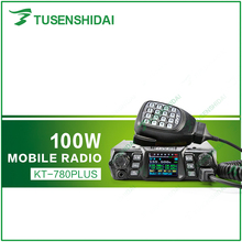 Newest QYT High Power Max 100W VHF 136-174Mhz Mobile Vehicle Car Radio Transceiver KT-780PLUS