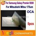 5 шт. ОСА 250um ОСА Для Samsung Galaxy Premier I9260 Пленка Для Mitsubishi Mitsu Rohs Оптический Ясно Клей Стикер