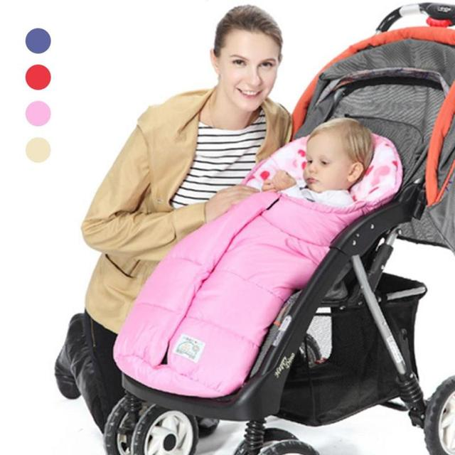 Winter Baby Sleeping Bag Blanket Envelope For Newborn Infant Girl Boys Cotton Sleep Sack