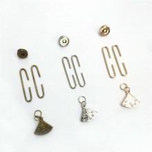 1Pc Bronze,Gold,Sliver Tone Metal Frame C Shape Fashion Mini Purse Fan Kiss Clasp Clutch Bag Lock Luggage&Bag Accessories 5.0CM