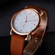 Creative Design Ladies Quartz High Quality Watches Women Fashion Leather Strap Clock WristWatch Relogio Feminino