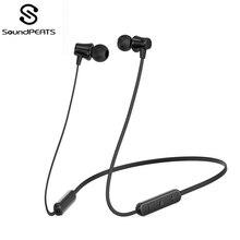 Oreillettes Bluetooth SoundPEATS écouteurs sans fil 4.1 écouteurs Bluetooth magnétiques écouteurs légers avec micro écouteurs intra-auriculaires Q31