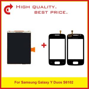 """Image 1 - High Quality 3.14"""" For Samsung Galaxy Y Duos S6102 LCD Display With Touch Screen Digitizer Sensor Panel+Tracking Code"""