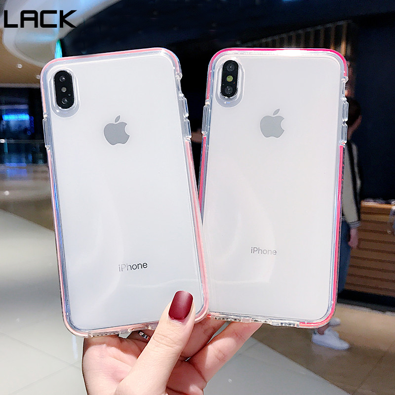Kids' Clothes, Shoes & Accs. Lack Candy Color Anti-knock Clear Soft Cases For Iphone Xs Max Transparent Protector Back Cover For Iphone 8 Plus 6 6s 7 X Xr Clothes, Shoes & Accessories