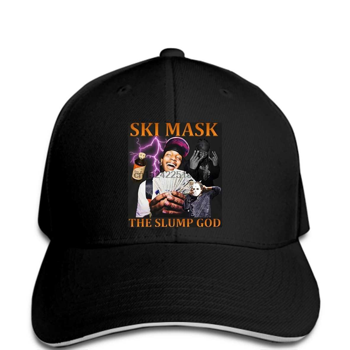 Men Baseball cap Ski Mask The Slump God Rap Baseball cap funny cap novelty  cap women 11a191e674c