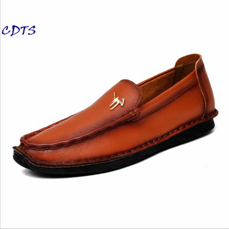 LLXF Plus size 38-44 45 2017 High Quality Genuine Leather Men Shoes Soft Moccasins Loafers Fashion Men Flats Comfy Driving shoes brand summer causal shoes men loafers genuine leather moccasins driving shoes high quality flats for man big size 36 44 lb b0013