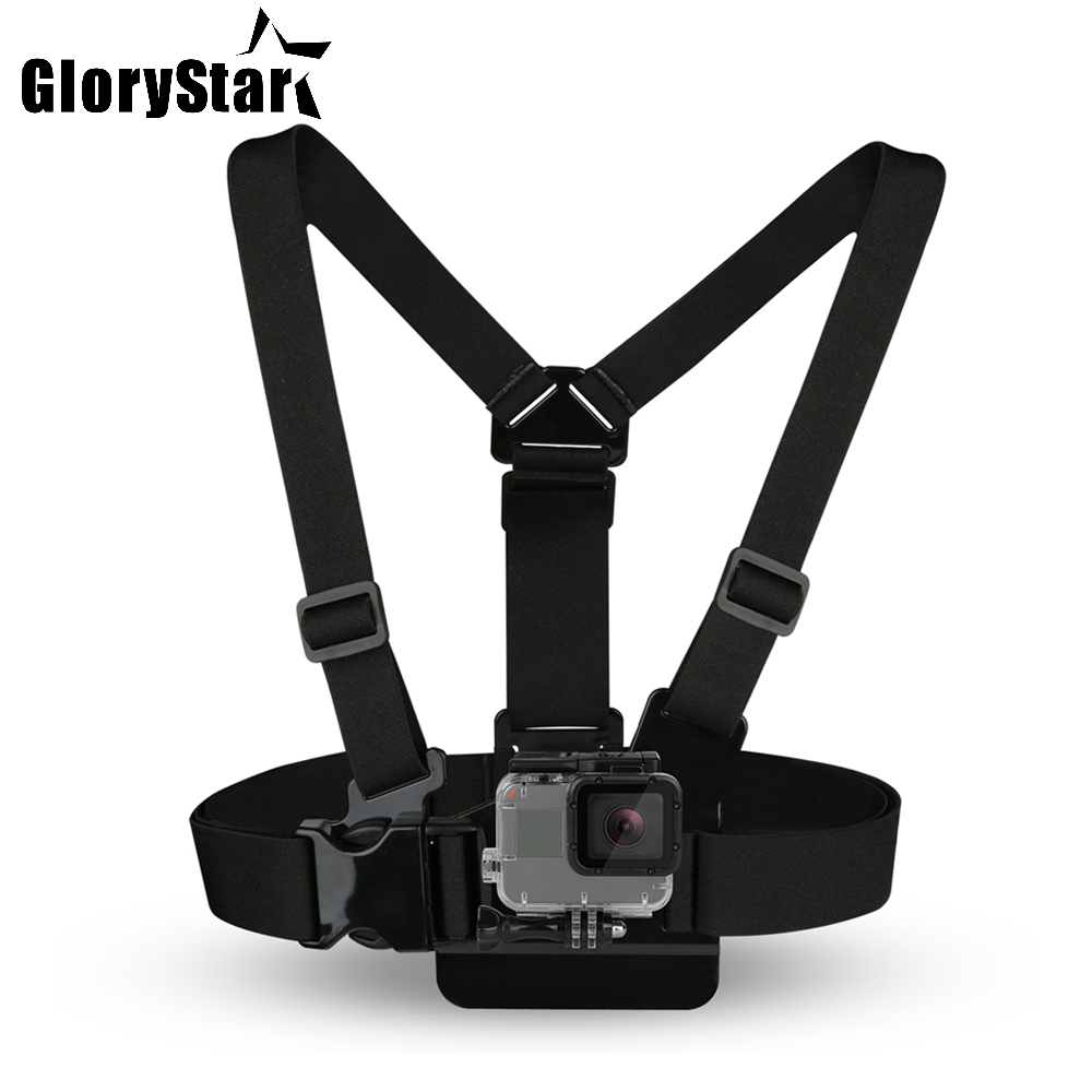 Chest Strap mount belt for Gopro hero 7 6 5 Xiaomi yi 4K Action camera Chest Mount Harness for Go Pro SJCAM SJ4000 sport cam fixChest Strap mount belt for Gopro hero 7 6 5 Xiaomi yi 4K Action camera Chest Mount Harness for Go Pro SJCAM SJ4000 sport cam fix