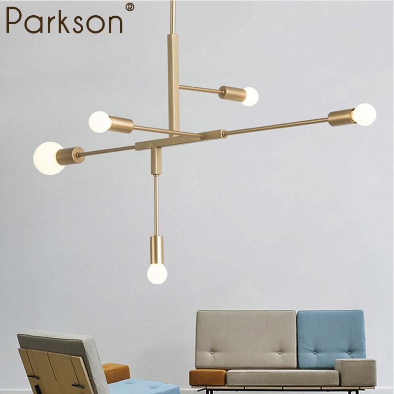 luminaria pendant lights nordic modern gold hanglamp industrial decor lampara colgante bedroom dinning room hanging lights