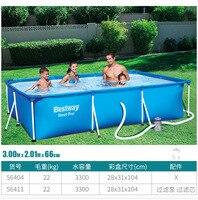 Кронштейн бассейн съемный каркасный бассейн Главная повышение взрослых мобильный бассейн