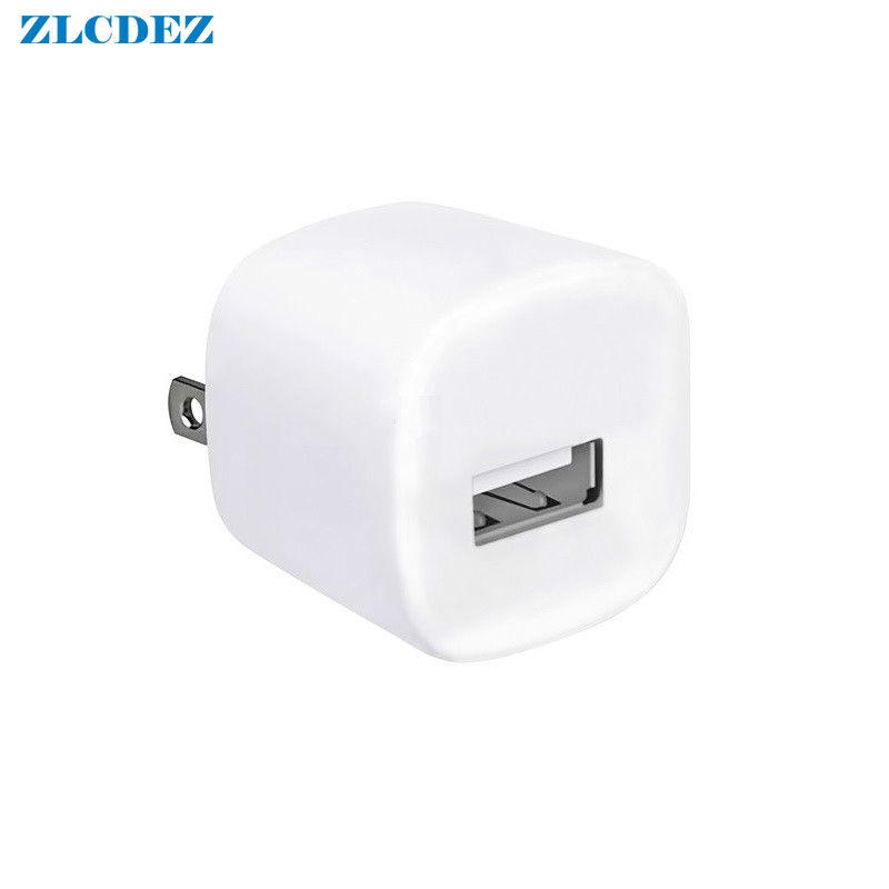 White Travel Wall Charge Charger Power Adapter USA Plug USB AC Charger For Apple IPhone 7