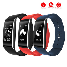 Get more info on the K8 Blood Pressure fitness tracker Bracelet Pulse Meter Monitor Heart rate Smart health Wristband Smartband for iPhone xiaomi