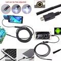 7 MM 1 M/1.5 M/2 M/3.5 M 6LED USB Impermeable Endoscopio Endoscopio Serpiente del Tubo cámara 7mm Lente Espejo Como Regalo Para El teléfono Inteligente Android