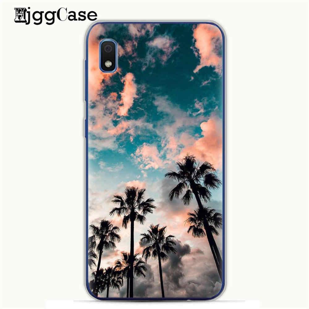 Funda de TPU blanda para Samsung Galaxy A50, funda de playa, verano, Océano, cielo y sol para Samsung A10, A30, 30, 10, A, 50, A505