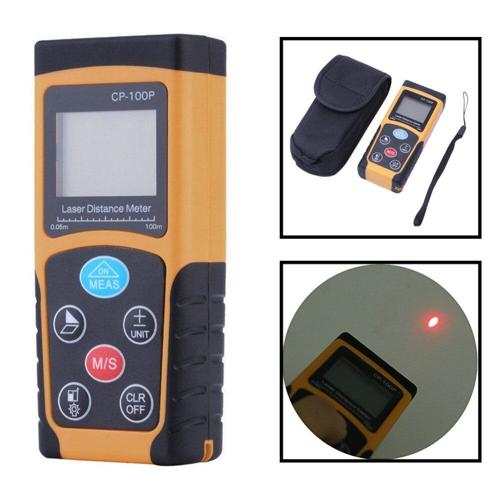 Better Portable 100m Mini Digital Laser Distance Meter Range Finder Measure Diastimeter  цены