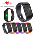 JWR1 BT4.0 Smart band bracelet Heart Rate Monitor Activity fitness Tracker Wristband for IOS Android smartphone