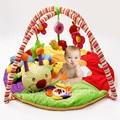 Coloridos tapetes de Jogo Bebê Playmat Musical Com Brinquedos As Crianças Brincam Tapete Infantil Tapete Engatinhando Tapete Brinquedos Educativos