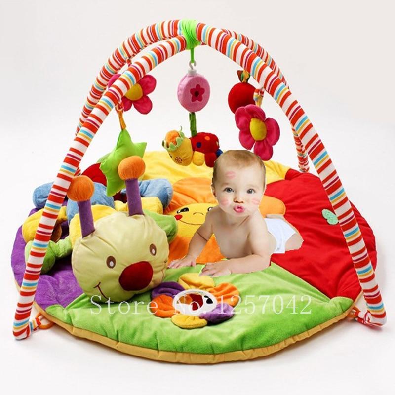 Színes Baby Playmat zenei játékszőnyegek játékokkal Gyerekek játszanak Mat gyermekeket szőnyeg csúszó tapéta oktatási játékokkal