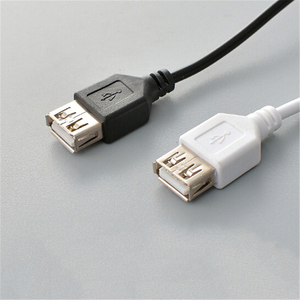 Image 5 - High Speed USB Extension Charging Data Cable 1.5M Black USB 2.0 A to A Male Female Extension Cable(only is Extention Cable)
