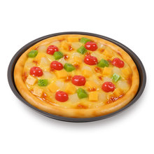Simulation Fruit Pizza Food Model Western Food Dishes Display Decoration Ornaments Handicraft Artificial Props Ornaments Display