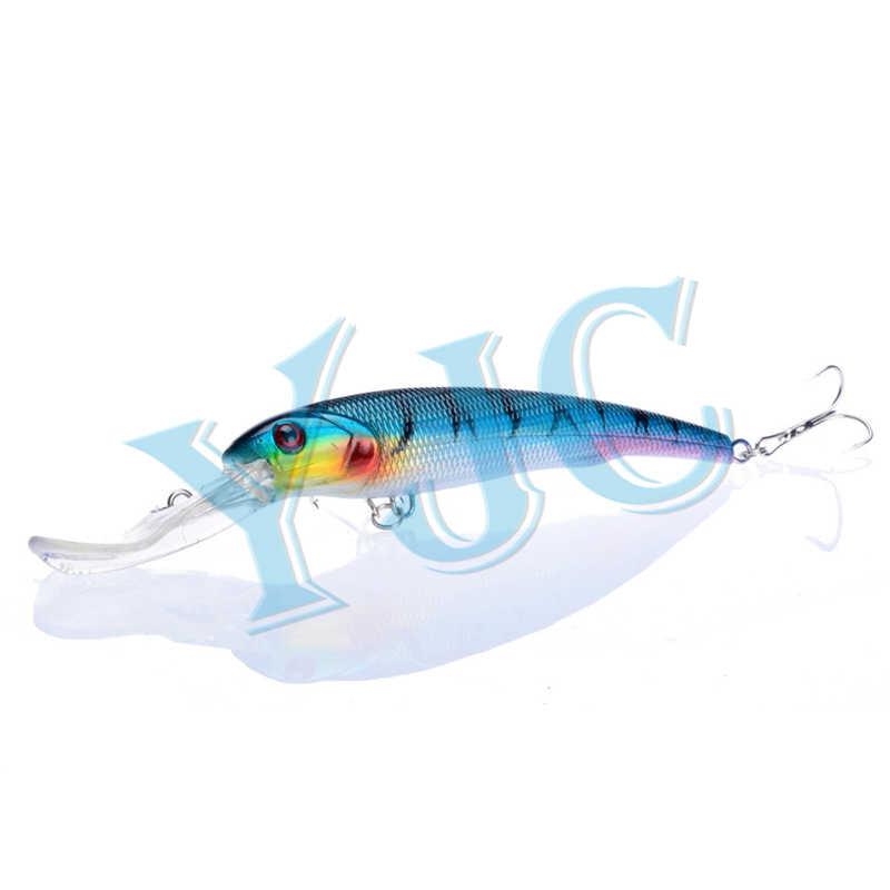 YJC Lure Wobbler Fishing Lure 16.5 ซม.29G Big Crankbait Minnow 2.7-4.5M ความลึก Trolling เหยื่อประดิษฐ์
