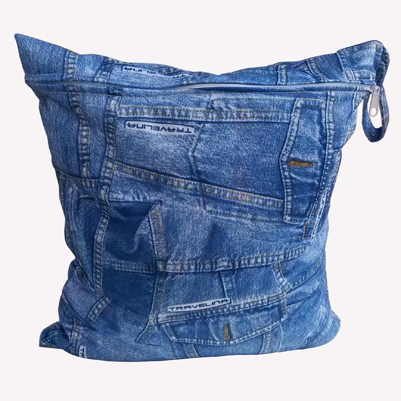 Sac mouillé de tissu réutilisable lavable / sac de transport de - Couches et apprentissage de la propreté