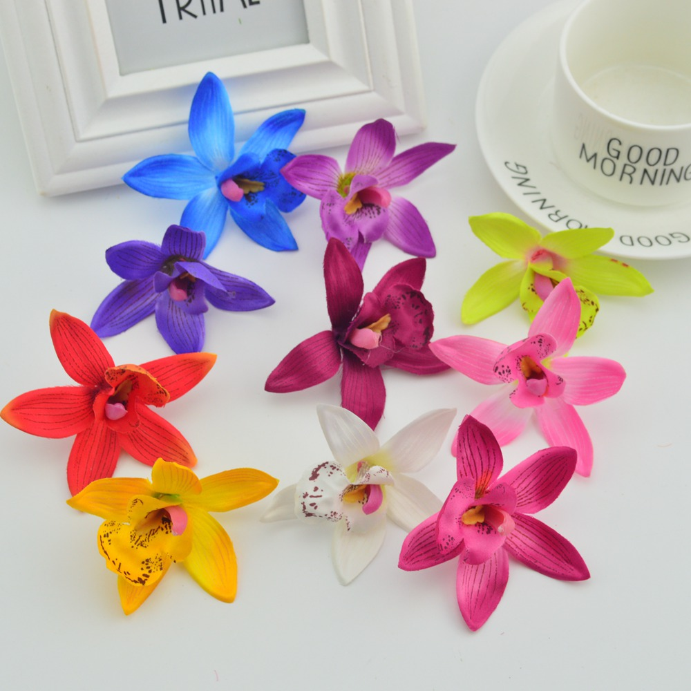 Online buy wholesale artificial orchids from china artificial 100pcs 7cm silk phalaenopsisfor home wedding decora stamens diy fake flower simulation butterfly cheap artificial orchid dhlflorist Gallery