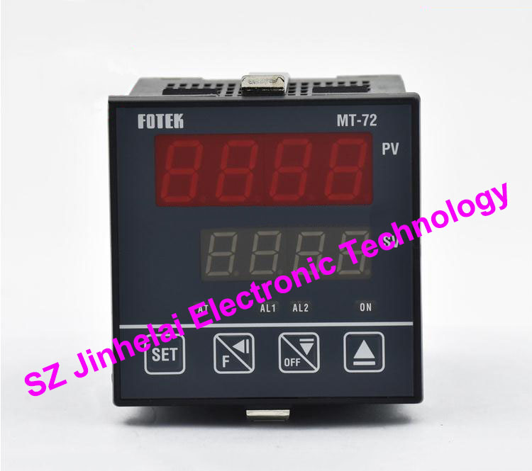 100% New and original FOTEK Temperature controller  MT72-R  90-265VAC  Relay output 100% new and original fotek photoelectric switch a3g 4mx mr 1 free power photo sensor
