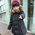 Children Girls Down Jacket Winter Kid'S Clothing Fashion Clothes Thicker Coat Warming Outdoor Jacket For Girls Down & Parkas