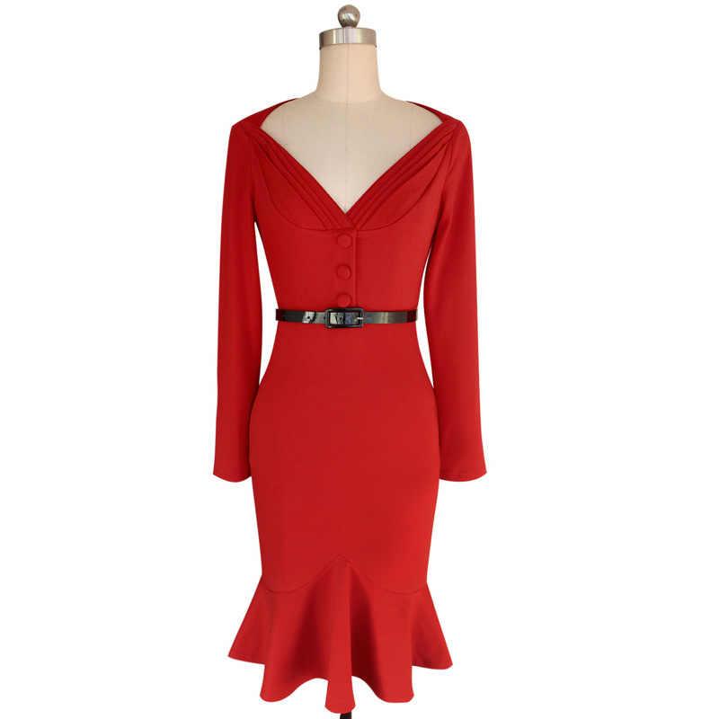 f368b707ff2 ... 2016 Summer Autumn Dress Plus Size Casual Women Sexy Sashes Dresss Print  Long Sleeve Mid Calf ...