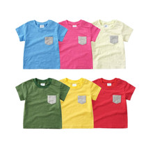 baby shirt short sleeve top for 0-2Y