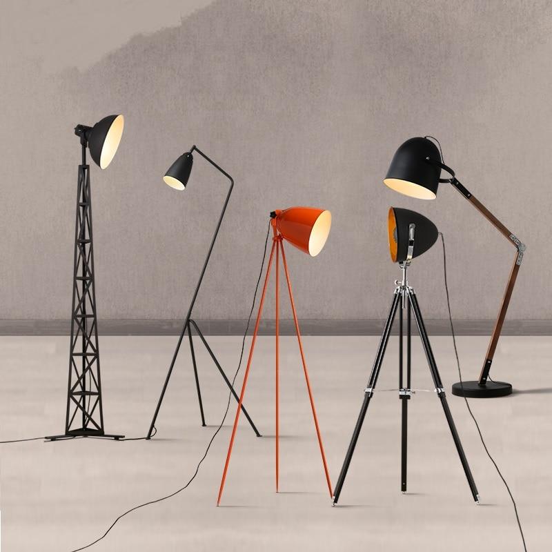 lighting triangle modern minimalist Scandinavian iron decorative lamp trigeminal study bedroom living room lamp FG480