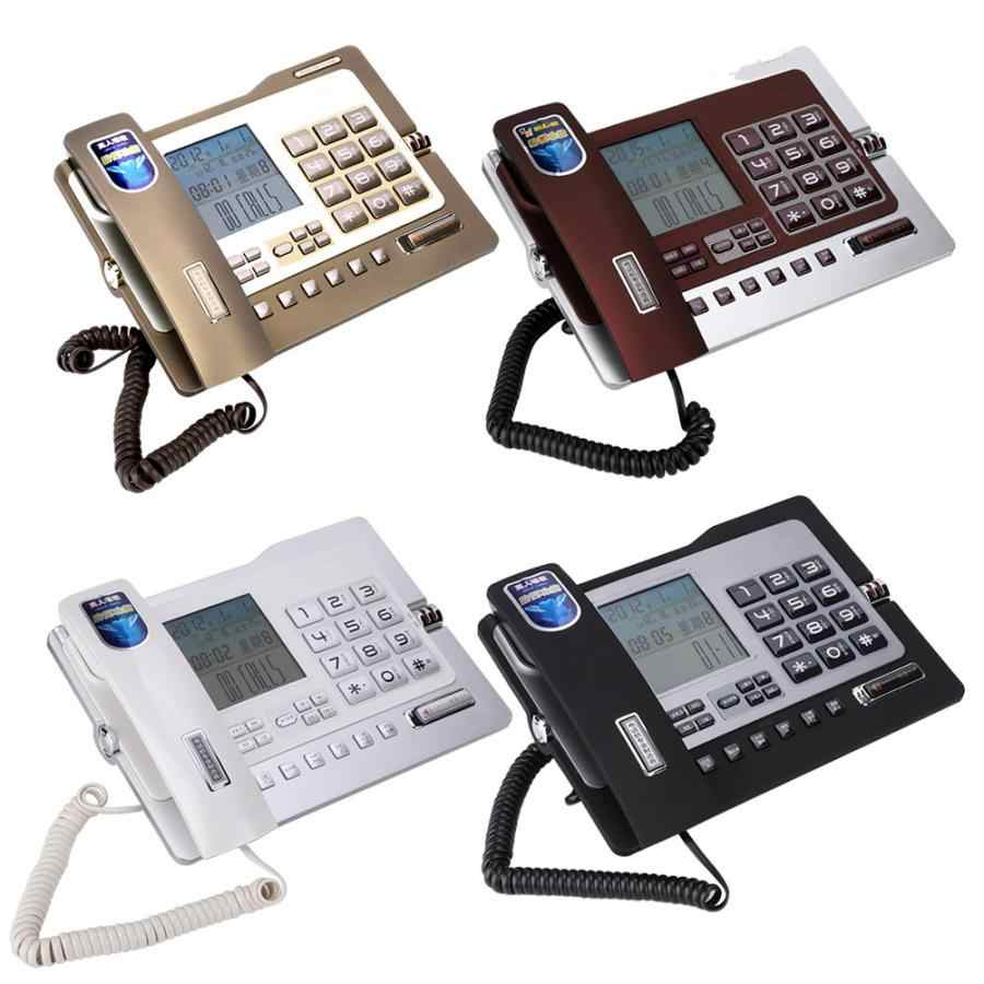 G026 Landline Telephone Fixed Desk Phone Simple Style Caller ID Display telefone for Home Office Hotel Accessories