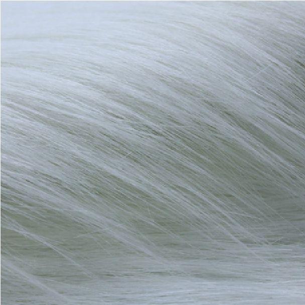 Tissu en peluche blanc bon marché de haute qualité, tissu/matériel de fourrure, couvertures d'étape, largeur 1.5 M, 1 mètre pour une pièce